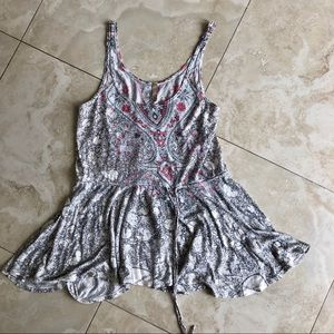 FP   Flowy Cinched Tank Top